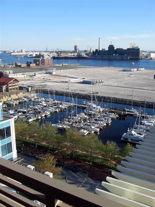 Balcony on Sunday (10/15/2006)